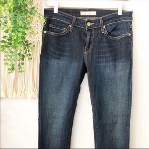 JOIE Women's Blue Mid Rise Skinny Jeans Sz. 0/25